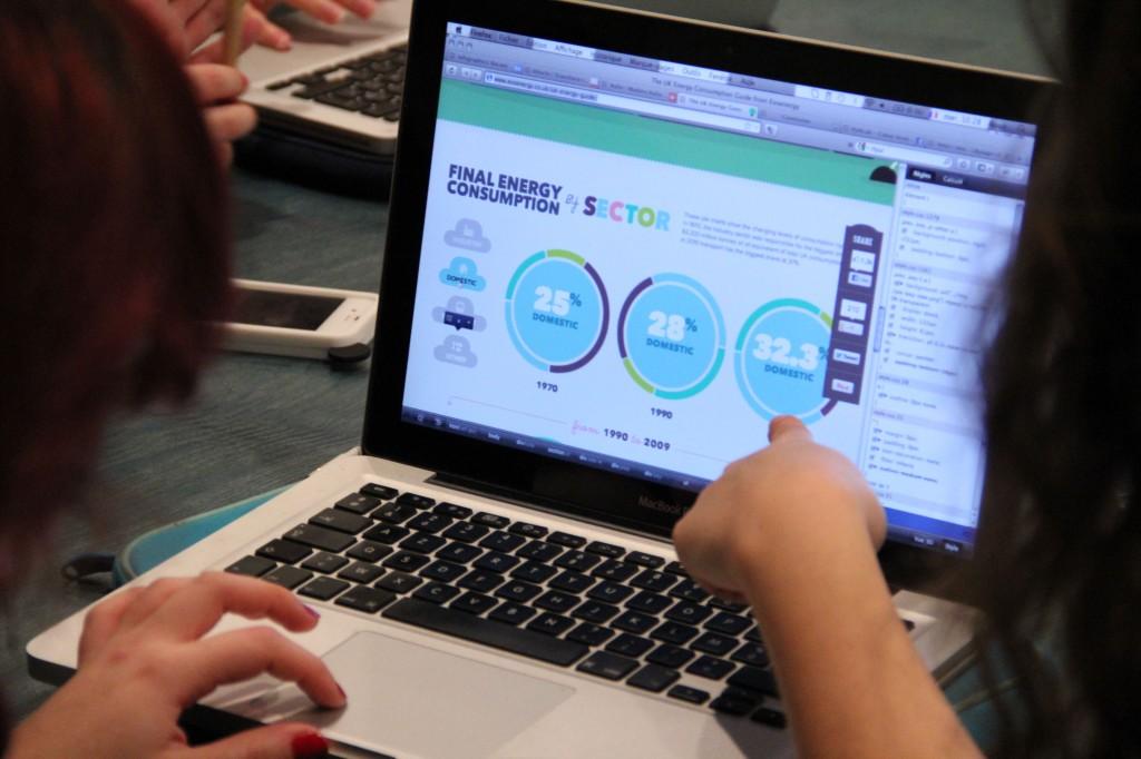 Les étudiants s'inspirent de visualisations data existantes pour imaginer les leurs.
