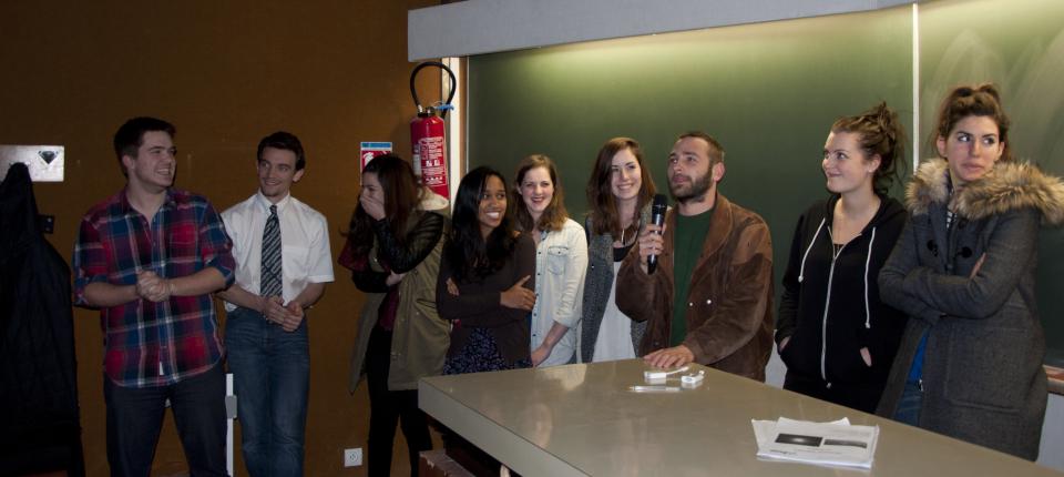 L'équipe des Transmusicales, vainqueur du Hyblab Archives 2.0