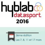 Le HybLab Datasport 2016 en chiffres
