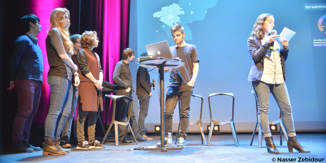 Soirée de remise des prix du HybLab Datasport 2016