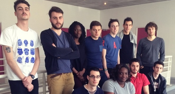 La Team Datapong (Comité Départemental du Tennis de table)