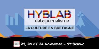 Appel à projets – Atelier HybLab Datajournalisme à Saint-Brieuc