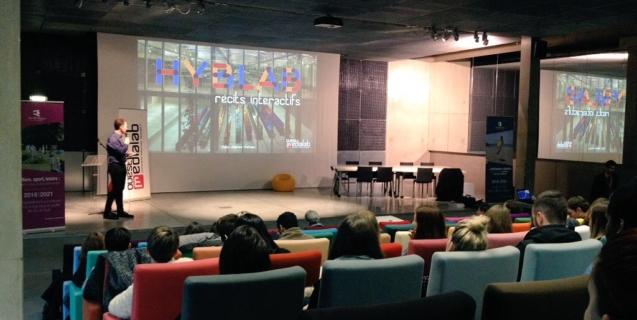 Coup d'envoi du HybLab «récits interactifs» de Rennes 2016