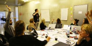 Présentation des équipes du HybLab «récits interactifs» de Rennes