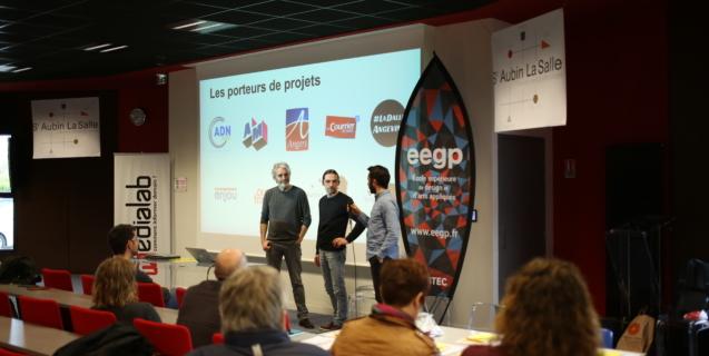 HybLab d'Angers : à quoi ressemble la première journée d'une équipe ?