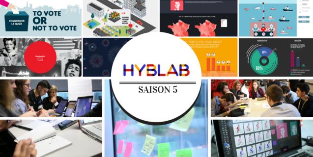 [HybLab – Saison 5] 5 hackathons, 40 médias, 13 écoles et 1 projet shortlisté pour les Datajournalism Awards 2017