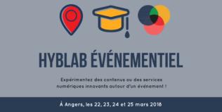 [APPEL À PROJETS] Participez au HybLab «Événementiel» à Angers
