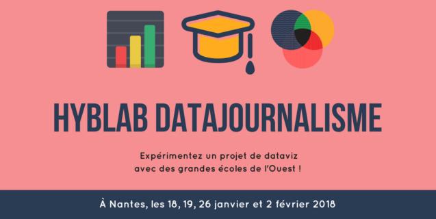 [APPEL À PROJETS] Participez au HybLab Datajournalisme à Nantes !