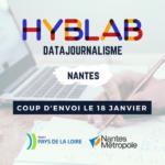 9 porteurs de projet au HybLab Datajournalisme de Nantes