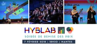 Soirée de remise des prix du HybLab Datajournalisme nantais