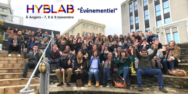 Hyblab événementiel 2018 : présentation des projets et des équipes