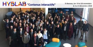 """Les 8 projets du HybLab """"Contenus interactifs"""" de Rennes"""